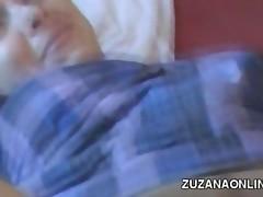 Amateur Czech Footjob Massage