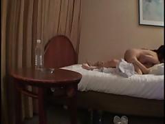 Japanese massage chick get fuck
