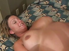 Massage turns her on and they fuck