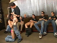 Reena Sky takes on 10 guys