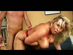 Take it you blonde MILF