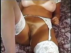 Amateur mature hotel room striptease