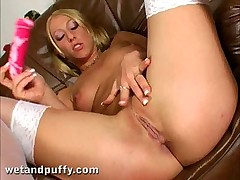 Crazy Dionne Stripping and Fucking Her Pussy