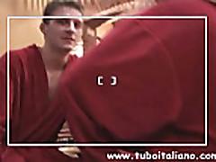 Italian Wfe tries Anal Moglie