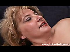Italian Blonde Hot Mature Matura