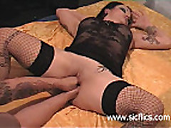 anal and vaginal fist fucked amateur slut