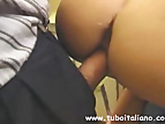 Italian BBW Teen HouseWife Moglie