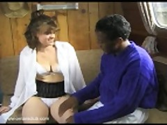 Omar fucks a young office girl on his mates boat