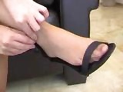 Pantyhose Foot Fetish