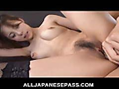 Mature Japanese babe gets groped and fucked
