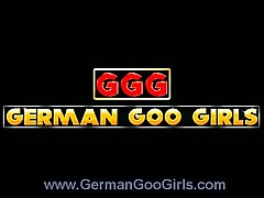 Hot German Chicks Go Wild on Cock