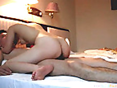 Nerdy Asian Couple Homemade Sextape