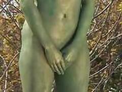Public Painted Statue