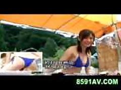 Mosaic: swimming pool bikini shop girl 05