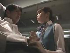 JAV Amateur 115 - Flight Stewardess In Flight Services