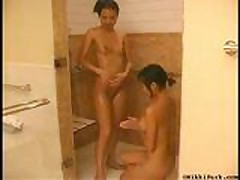 NikkiPark&Julie shower