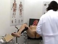 Margret gets a checkup