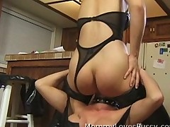 Slutty Butt licking MILF
