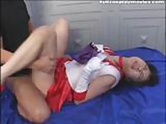 Sailor Mars Anime Cosplay Sex