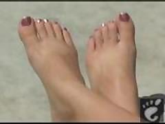 Sexy Babe gorgeous feet