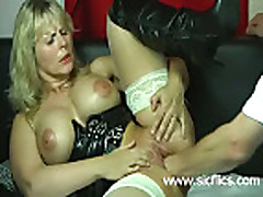 Merciless fisting of a housewife