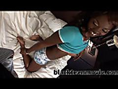 ebony teen amateur gets fucked
