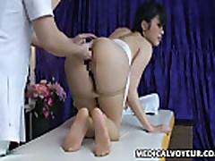 Mosaic- Fashion Model seduced by masseur 3