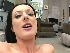 Babe Melissa Lauren gets an interracial double penetration