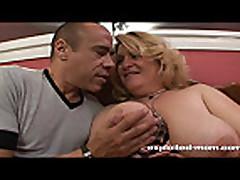Big tit milf gets stuffed with cock