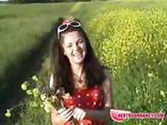 NextDoorNancy - Playing with pussy under the sun