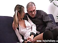 Italian Teen With Older Guy Ragazza