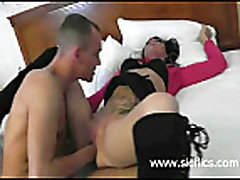 Hot amateur slut fist fucked into a screaming orgasm