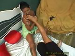 Brazil Mother Daughter Foot Lick Part 1