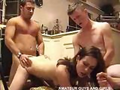 Amateur Young Group Party Home Made Gang Bang