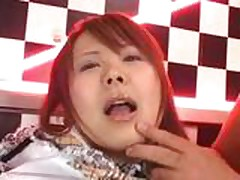 JAV Plaid Skirt Teen