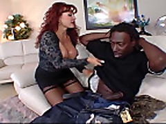 Redhead Mature in action