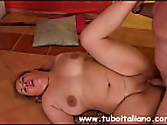 Italian BBW Mature Matura Tettona