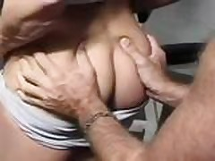 Sexy female bodybuilder fucks good