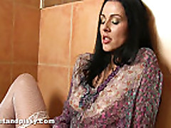 Piss: Katty Wrings Out Her Soaking Wet Panties