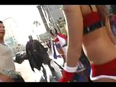 Lily Kingston Public Xmas Nudity