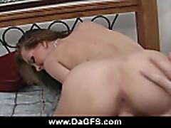 Skinny emo slut fucked hard