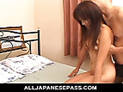 Itsukas furry little pussy fingered until she cums hard