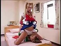 Lesbian Sailor Scouts