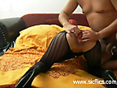 Destroying the wifes ass and pussy