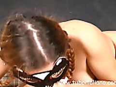 Laura Italian Wife First Time
