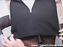Italian Wife Thresome Moglie ITA