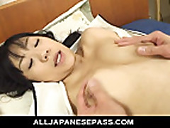 Horny and cute Saya Misaki loves to wake up her boyfrie