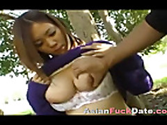 Busty Thai Teen Fucked in Public