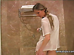 Lenka needs to take a sexy shower
