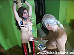 Italian Wife Punishment BDSM